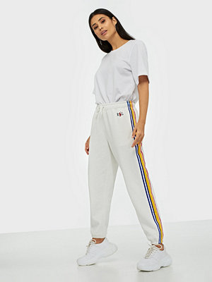 Polo Ralph Lauren vita byxor Striped Ankle Pant