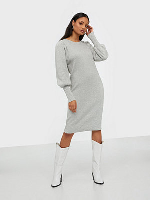 Selected Femme Slftine Ls Knit O-Neck Dress B