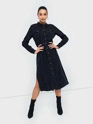 Pieces Pcnola Ls Midi Lyocell Shirt Dress