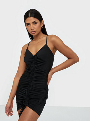 Parisian Rouched Front Bodycon Mini Dress