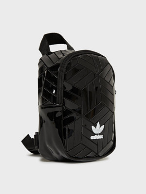 Adidas Originals svart ryggsäck Bp Mini 3D