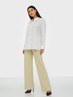 NLY Trend omönstrade byxor Detailed Wide Pants