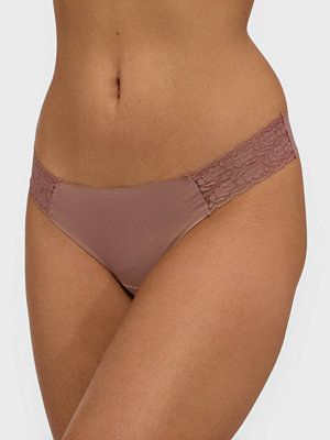 Trosor - Lindex Invisible Lace Thong