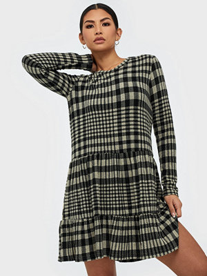 Jacqueline de Yong Jdybrienne L/S Check Dress Jrs Exp