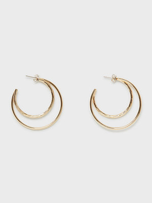 Pieces örhängen Pcjudith Hoop Earrings