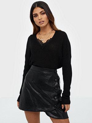 Vero Moda Vmnora Ls V-Neck Lace Blouse