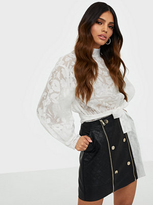 River Island Quilted Popper Mini