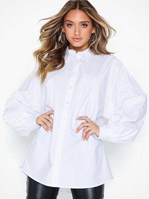 Skjortor - NLY Trend Puff Oversize Shirt