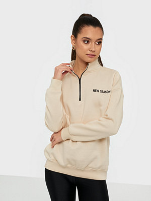 Missguided High Neck Zip Front Oversized Sweater