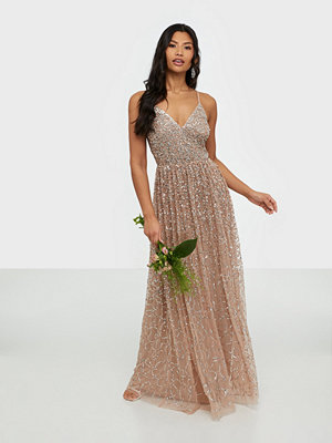 Maya All Over Delicate Sequin Maxi Dress
