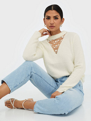Pieces Pcniannas Lace T-Neck Knit If