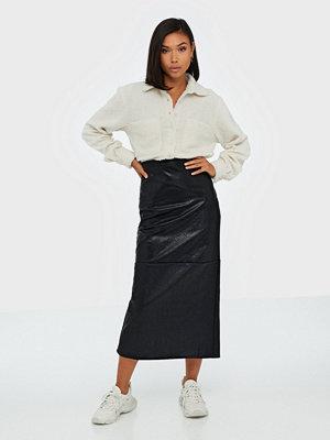 Glamorous Black PU Skirt