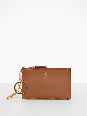 Lauren Ralph Lauren Super Smooth Leathr-Zip Card Cas-Ccs-Med