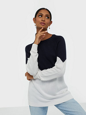 Only Onlsara L/S Block Pullover Cc Knt