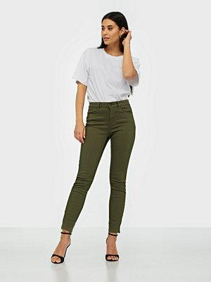 Vero Moda byxor Vmhot Seven Mr Slim Ank Zip Pants C