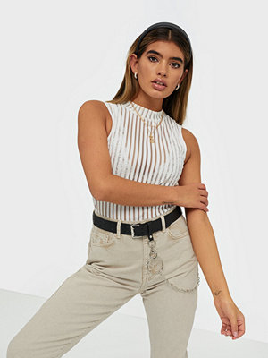 NLY Trend Sleeveless Turtleneck Top