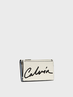 Calvin Klein Jeans Ckj Sculpted Card Case W/Coin