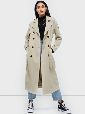 Selected Femme Slfbren Ls Trench Coat B