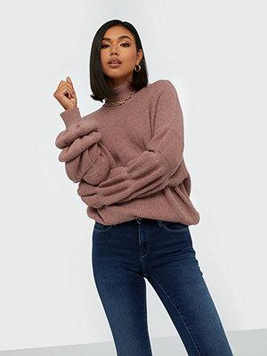Noisy May Nmlotte L/S High Neck Bouble Knit