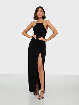 NLY Eve Strap Back Crepe Gown