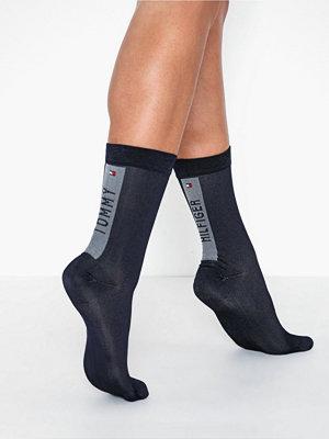 Strumpor - Tommy Hilfiger Underwear Heel Stripe Sock