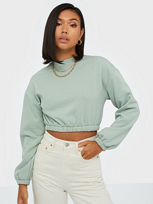 NLY Trend Puff Crop Sweat