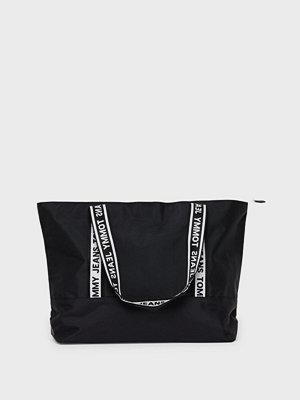 Tommy Jeans axelväska med tryck Tjw Logo Tape Nylon Tote
