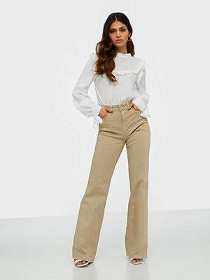 Selected Femme Slfella Hw Cornstalk Bootcut Jeans