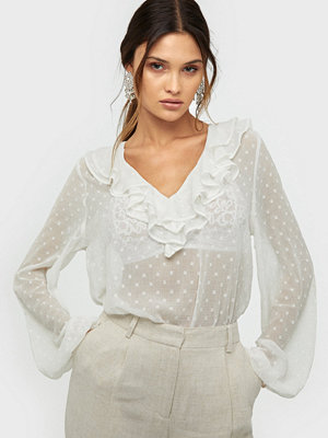NLY Trend Frill Collar Blouse