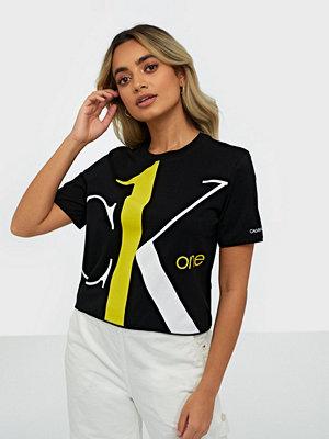 Calvin Klein Jeans Big Logo Modern Straight Crop T