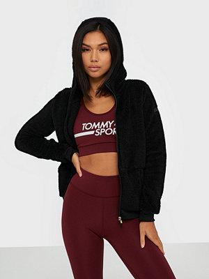 Sportkläder - Only Onpfluffy Ls Zip Hood Jacket