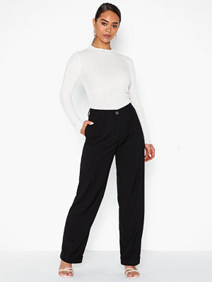 Pieces svarta byxor Pcnoisa Mw Wide Pants