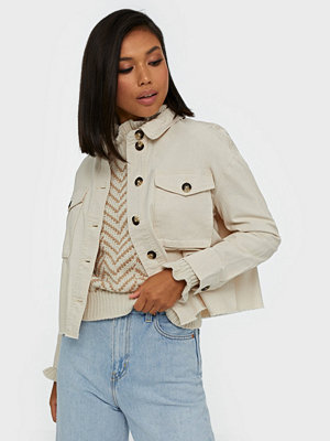 Only onlMARINA Crop Jacket Pnt