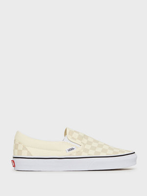 Sneakers & streetskor - Vans UA Classic Slip-On Checkerboard Vit