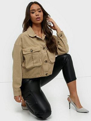 Jeansjackor - Gina Tricot Cargo Denim Jacket