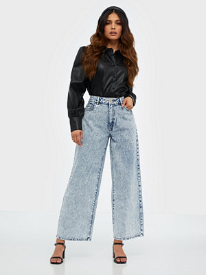 Noisy May Nmanna Nw Wide Jeans JT118LB Bg