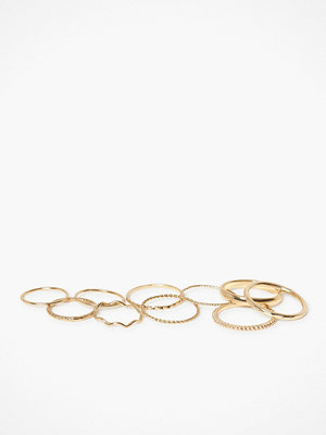 Pieces Pcnimple Ring Set 10-Pack D2D