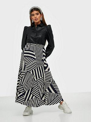 Selected Femme Slfalexis Mw Aop Midi Skirt B