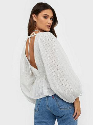 Glamorous V Neck Long Sleeve Blouse