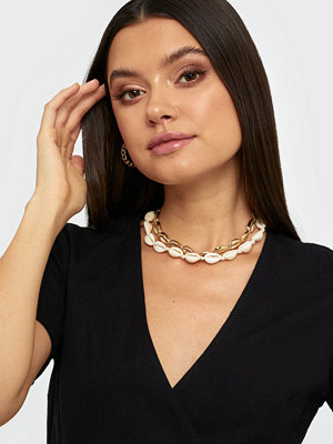 NLY Accessories halsband 2 pack Shell Chokers