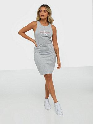 Calvin Klein Jeans Monogram Stretch Tank Dress