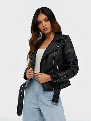 Glamorous PU Leather Biker Jacket