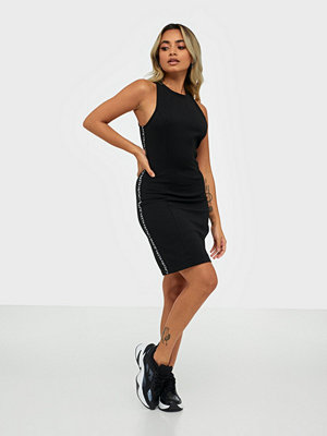 Calvin Klein Jeans Logo Elastic Fitted Milano Dress