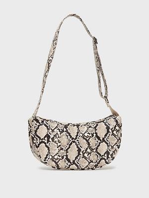 Becksöndergaard mönstrad axelväska Snake Moon Bag