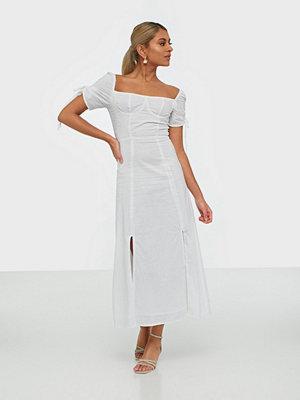 Glamorous Linen Midi Dress