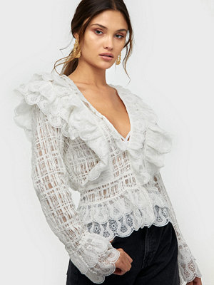NLY Trend Mega Frill Blouse