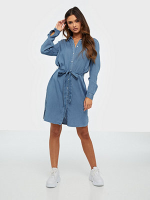 Vila Vibista Denim Belt Dress/Su - Noos