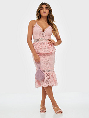 Love Triangle Parasol Midi Dress
