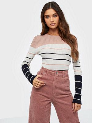 Only Onlnatalia Stripe L/S Pullover Knt