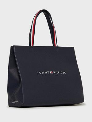 Tommy Hilfiger svart axelväska Tommy Shopper Tote